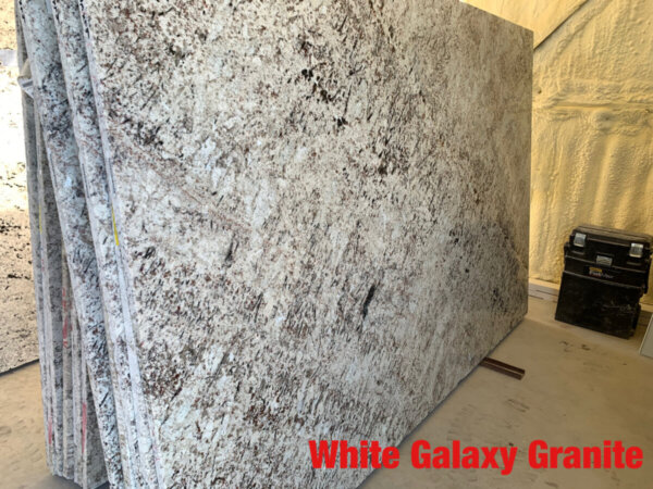 White Galaxy Granite 3cm$50 Per Sq Ft Installed