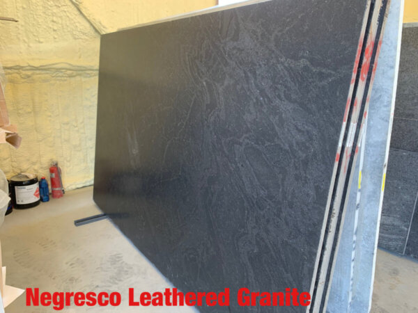 Negresco Leathered Granite 3cm$49.99 Per Sq Ft Installed