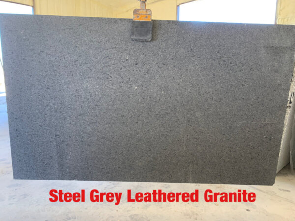 Steel Grey Leathered Granite$39.99 Per Sq Ft Installed