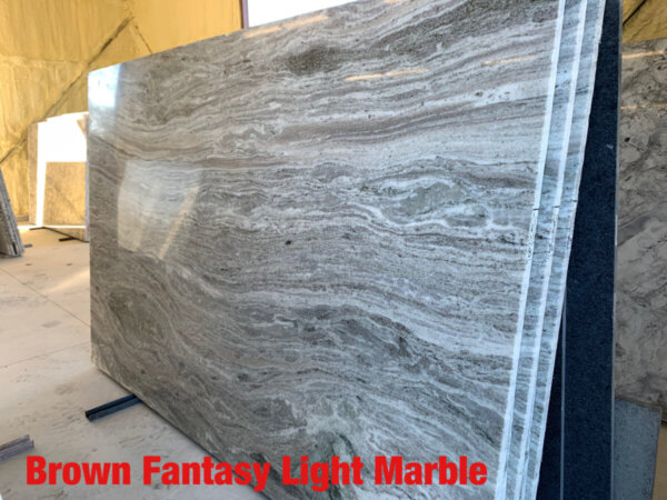 Fantasy Brown Light Marble$45 per Sq Ft Installed