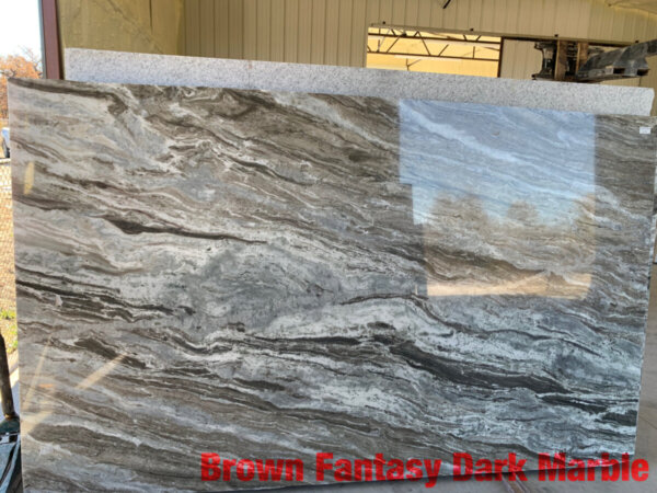 Brown Fantasy Dark Marble 3cm$45 per Sq Ft Installed