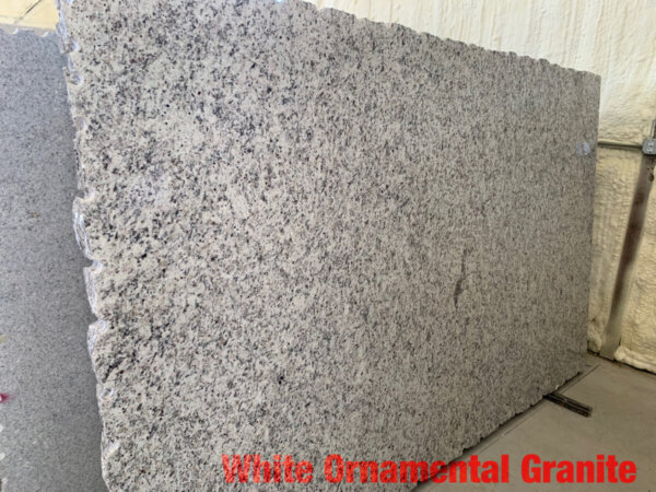 White Ornamental Granite$39 Per Sq Ft Installed