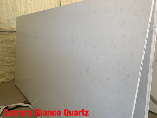 Carrara Bianco Quartz 3cm$55 Per Sq Ft Installed