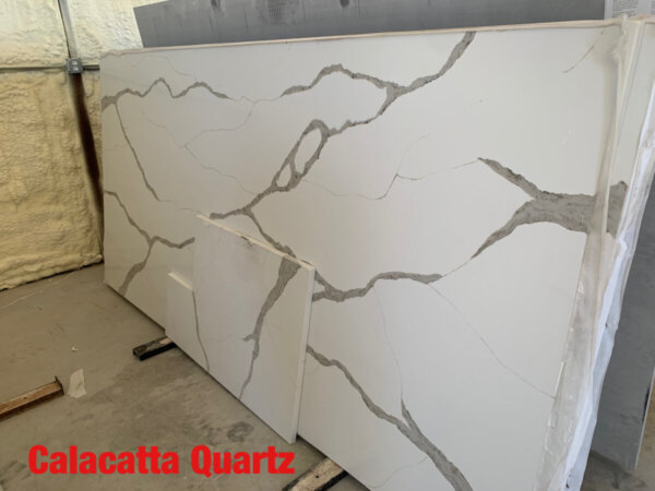 Calacatta Quartz 3cm$75 per Sq Ft Installed