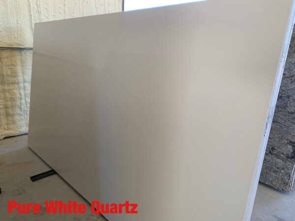 Pure White Quartz 3cm$50 Per Sq Ft Installed