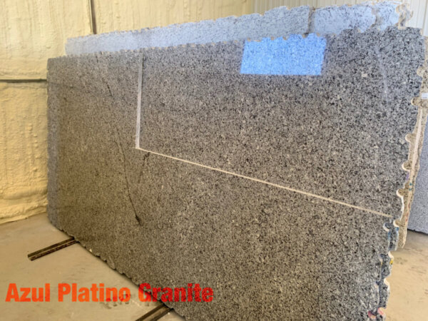 Azul Platino Granite 3cm$39 per Sq Ft Installed