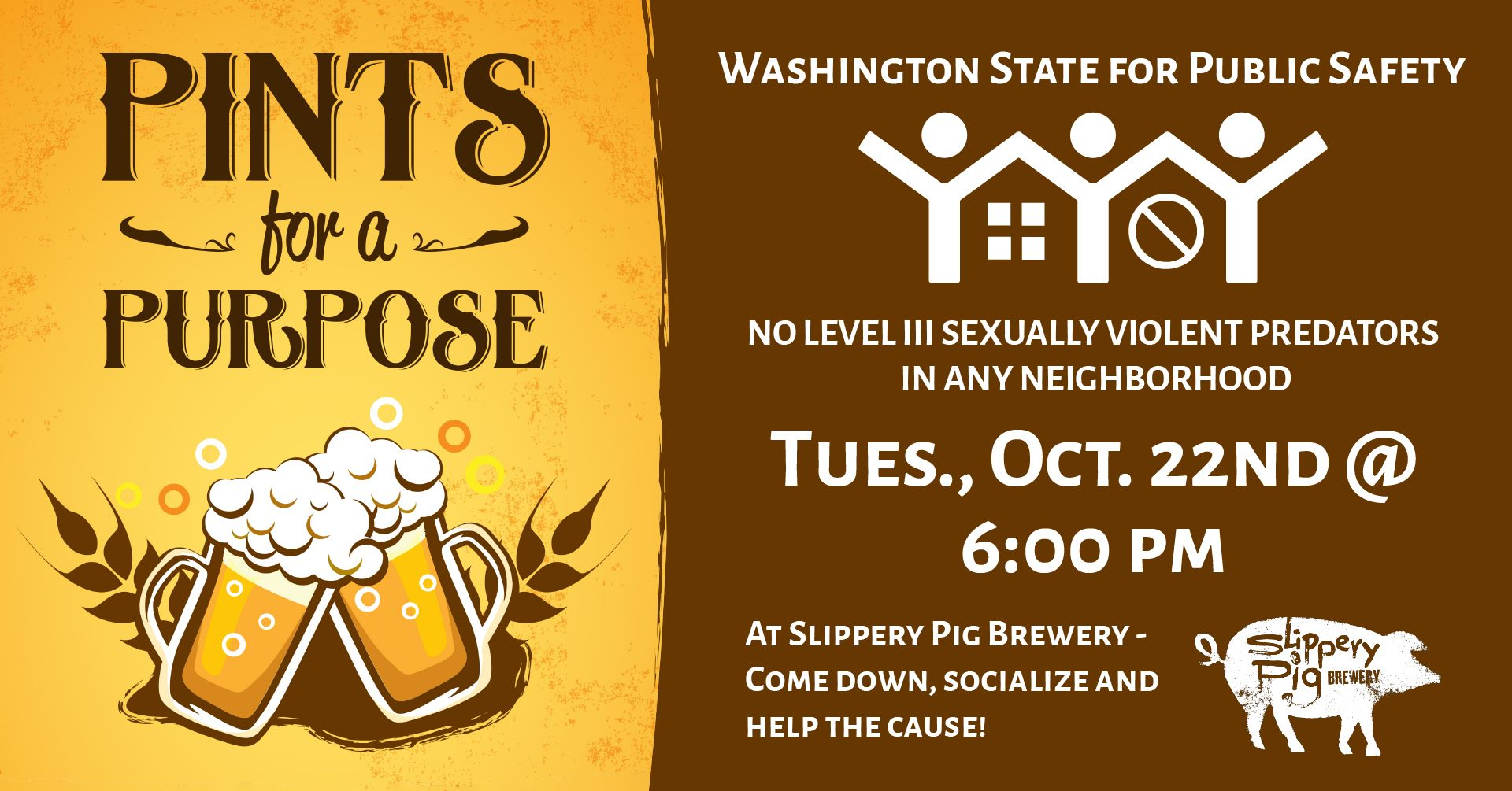 WSPS Pints For A Purpose at Slippery Pig