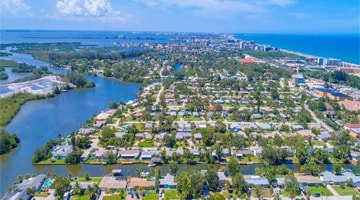 Aerial photo of brevard county