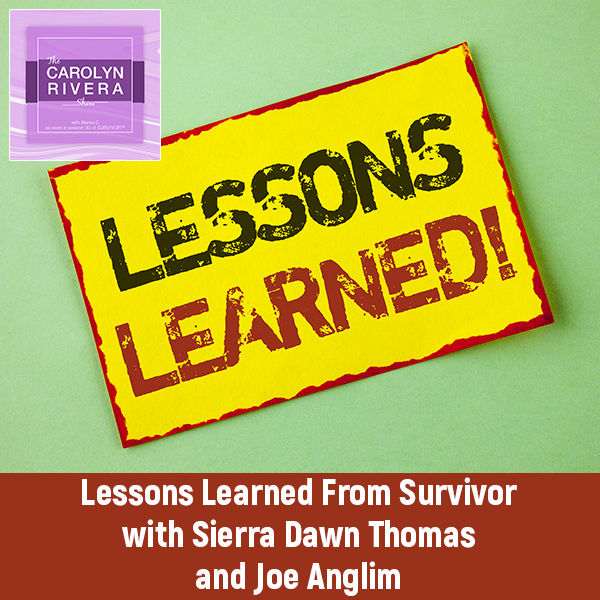 CRS 48   Lessons Learned From Survivor