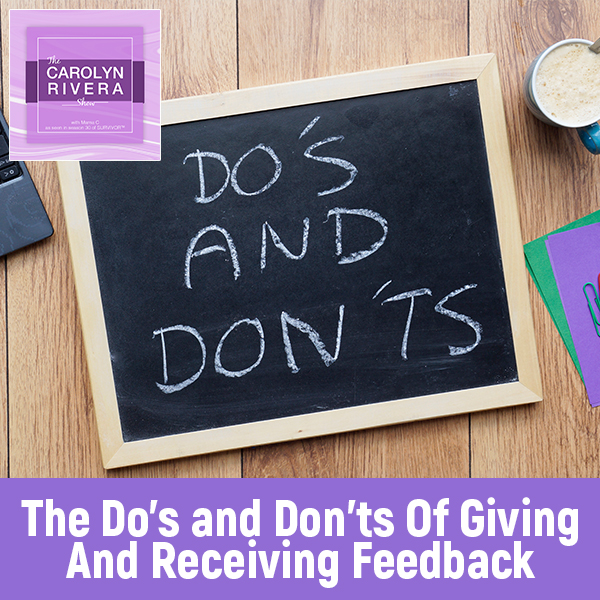 CRS 50 | Giving And Receiving Feedback