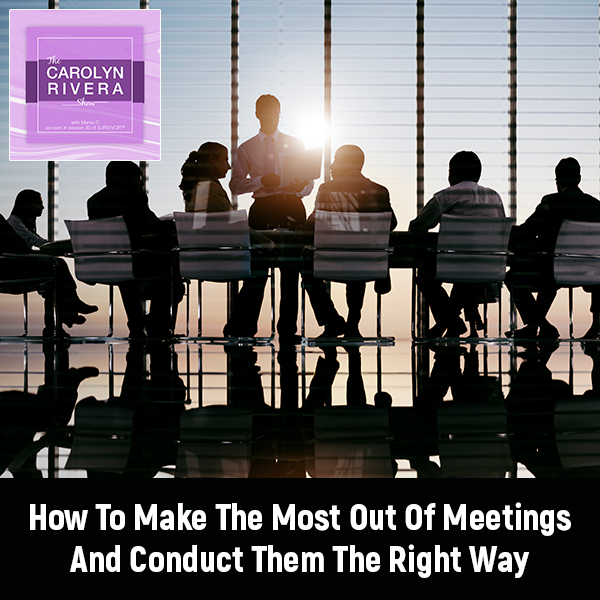 CRS 52 | Conducting Meetings Right