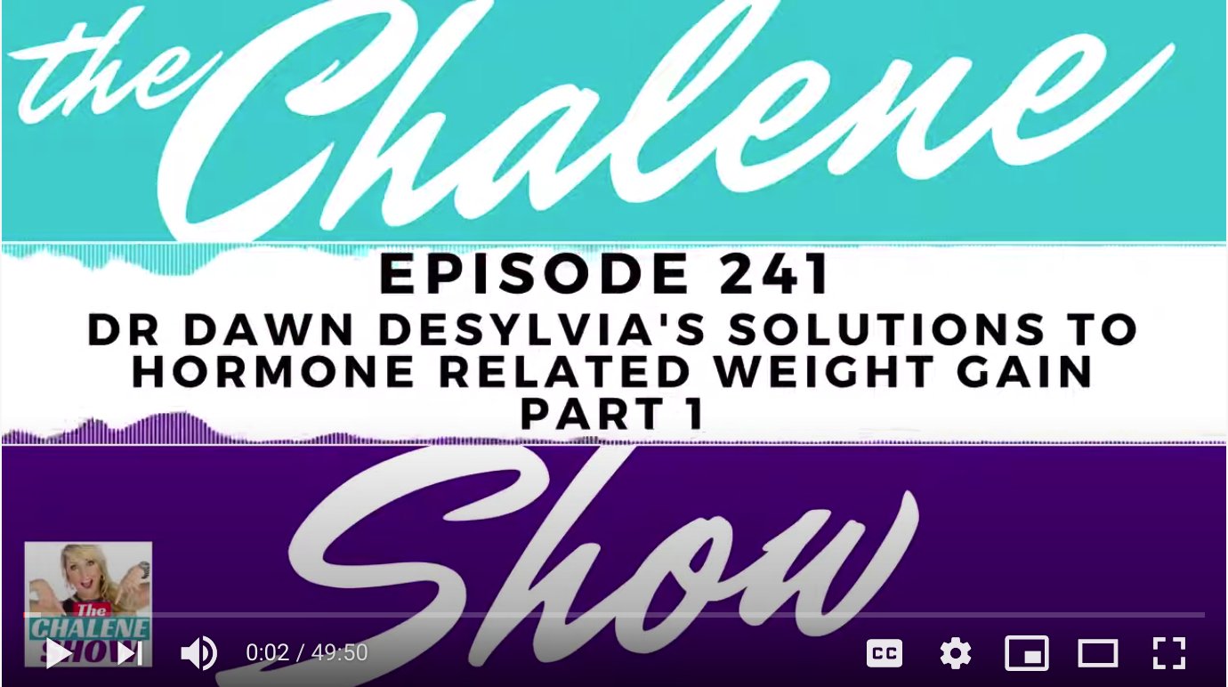 The Chalene Show With Dr. DeSylvia: Why Am I Gaining Weight!