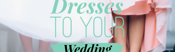 Matching Bridesmaids' Dresses To Your Wedding Gown