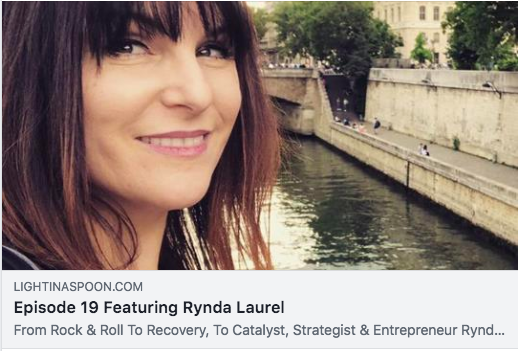 Rynda on Light In A Spoon Podcast