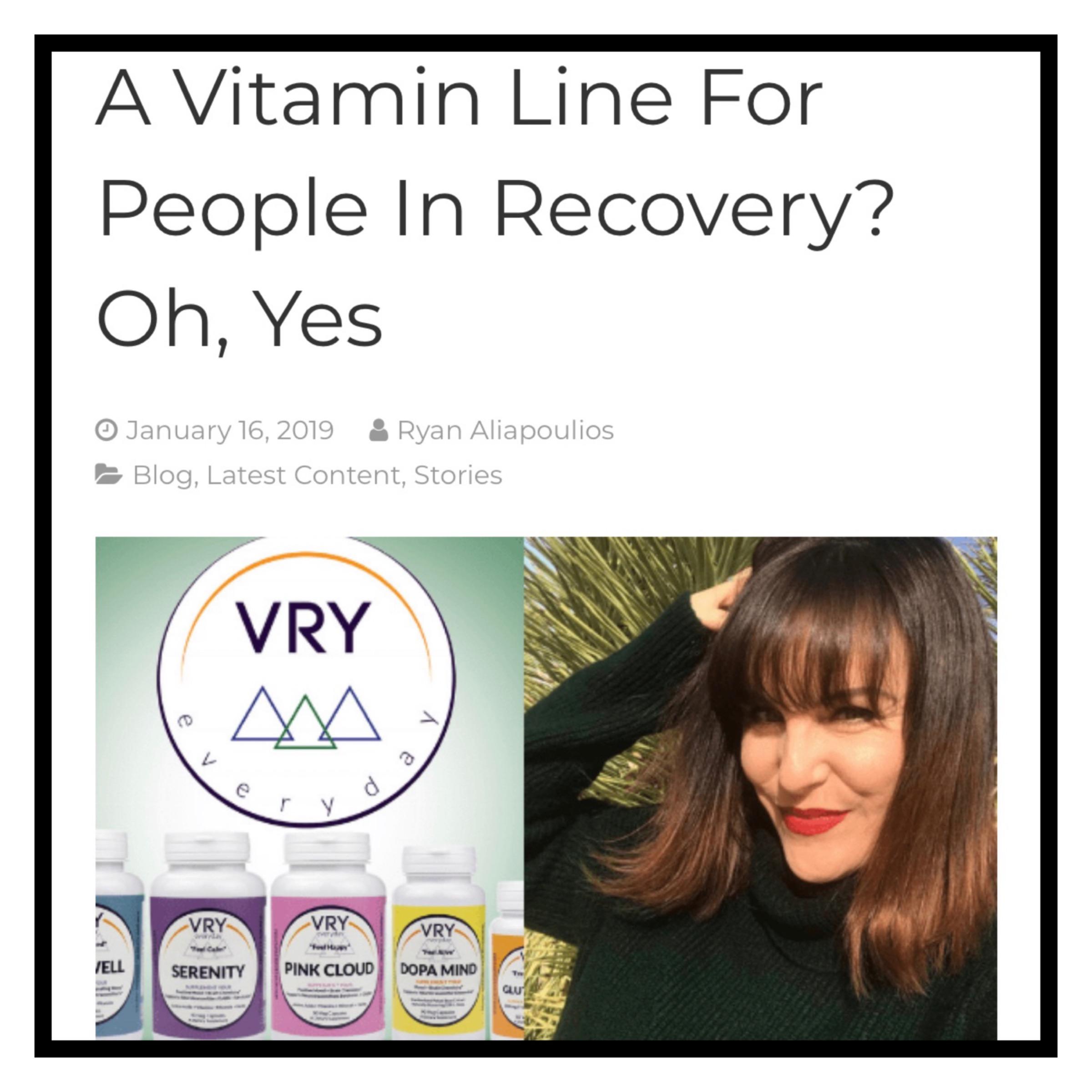 Genius Recovery features VRYeveryday