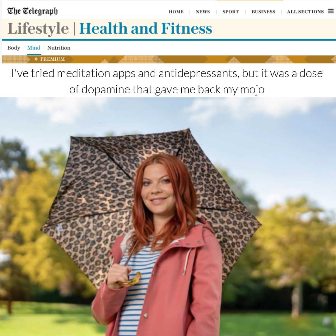 VRY featured in story by Anna Hart for Telegraph UK.