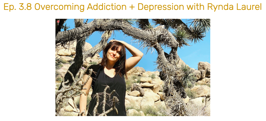 Rynda on The Simple Self Care Podcast: Overcoming Addiction + Depression