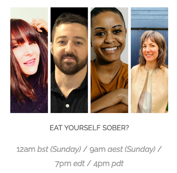 Rynda joins Club Soda's Mindful Drinking Fest. Watch Panel Here: