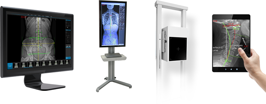 Chiropractic Digital X-Ray Machine