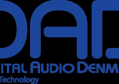 DAD Logo w Digital Audio Denmark