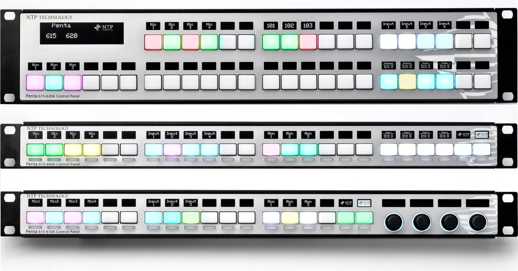 NTP Technology Penta Control Panel series 615