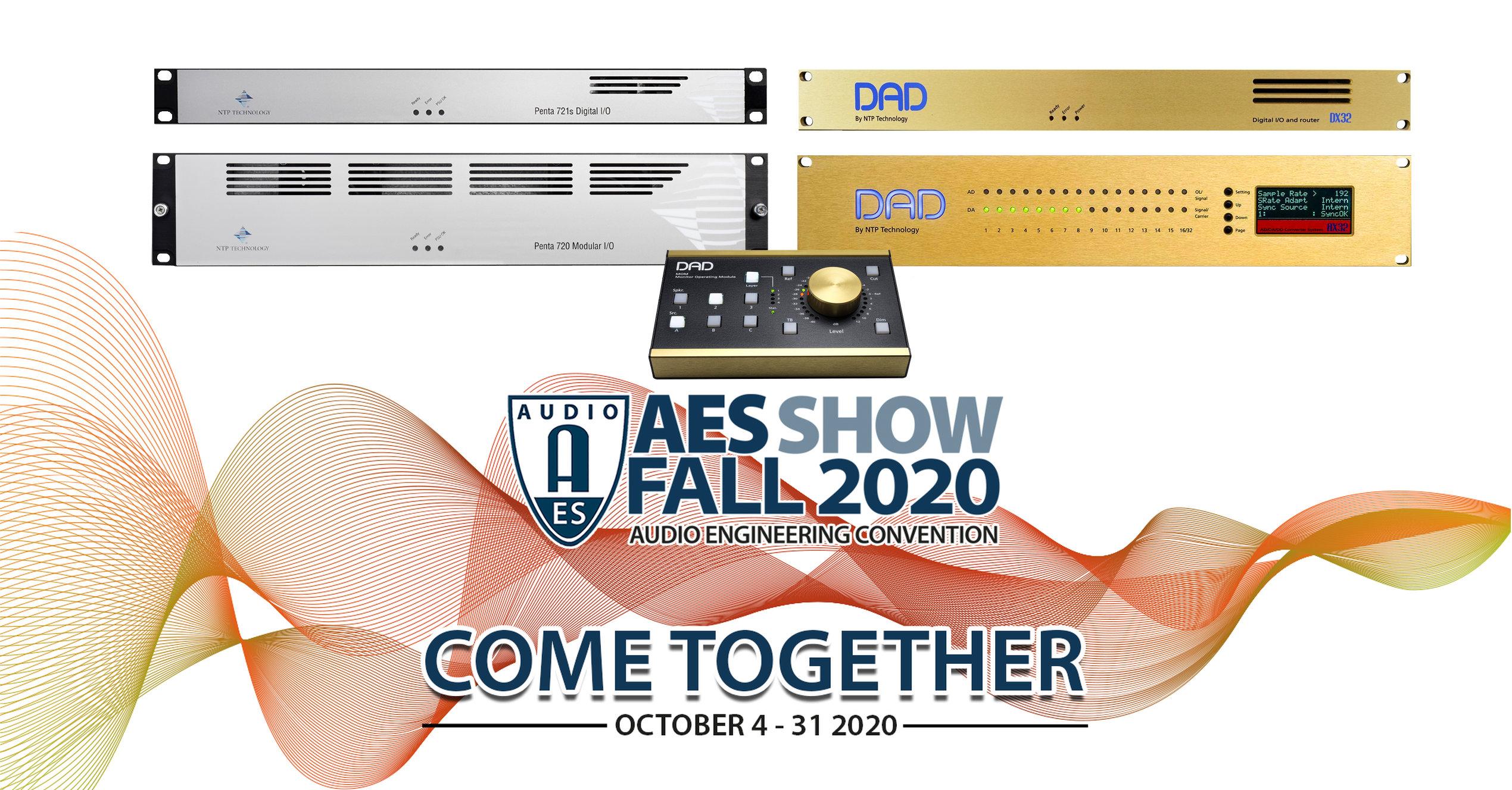 NTP & DAD at AES Fall 2020