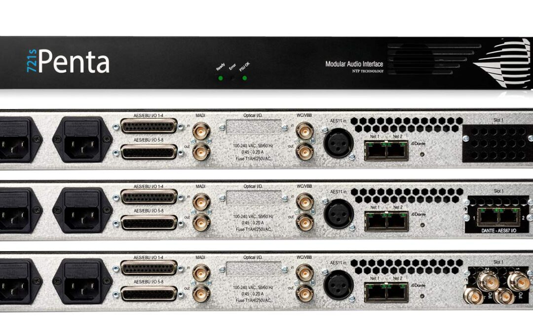 New Penta 721s Audio Routers and Converters Are Now Shipping