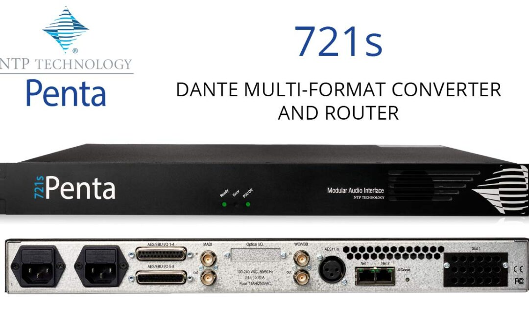 Meet the Brand New Penta 721s Audio Routers and Converters