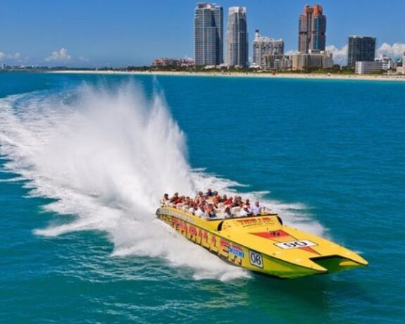 Speed Boat Tour in Miami