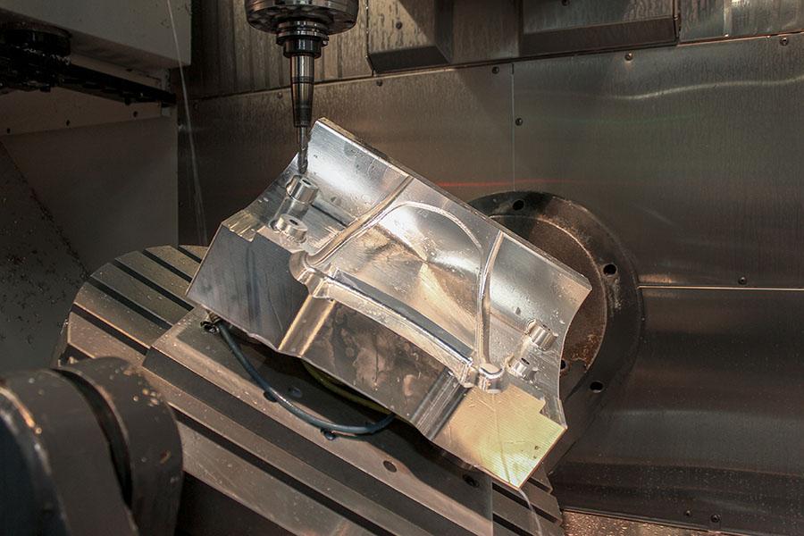 5-Axis CNC Machining: Making Complex Part Design Efficient