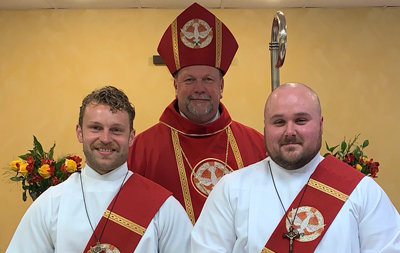 Two New Deacons!