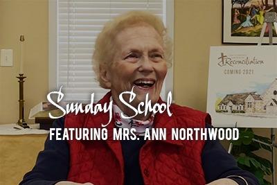 Virtual Sunday School Featuring Mrs. Ann