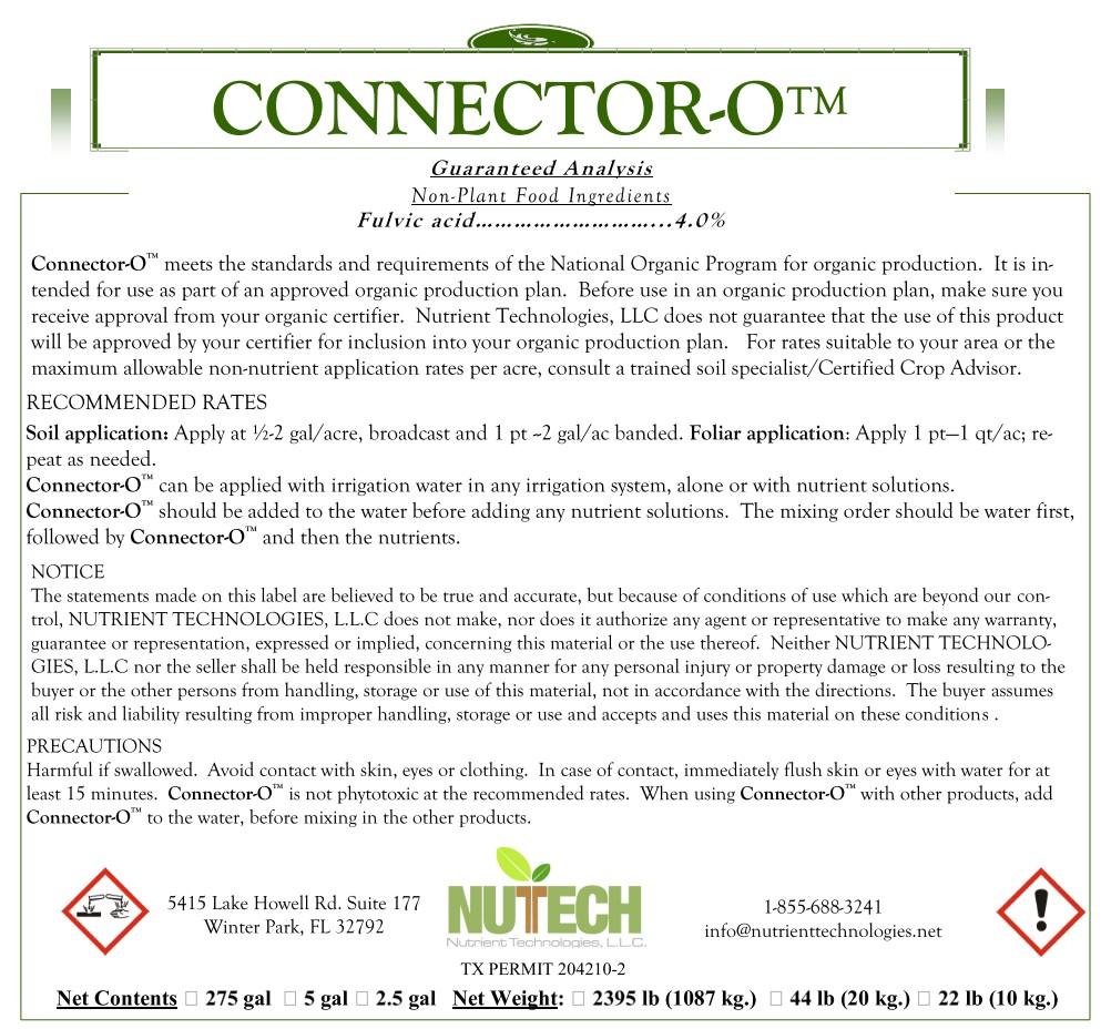 Connector-O Label