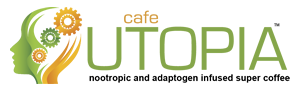Cafe Utopia coffee Logo Web
