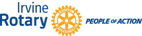 Irvine Rotary People of Action Logo