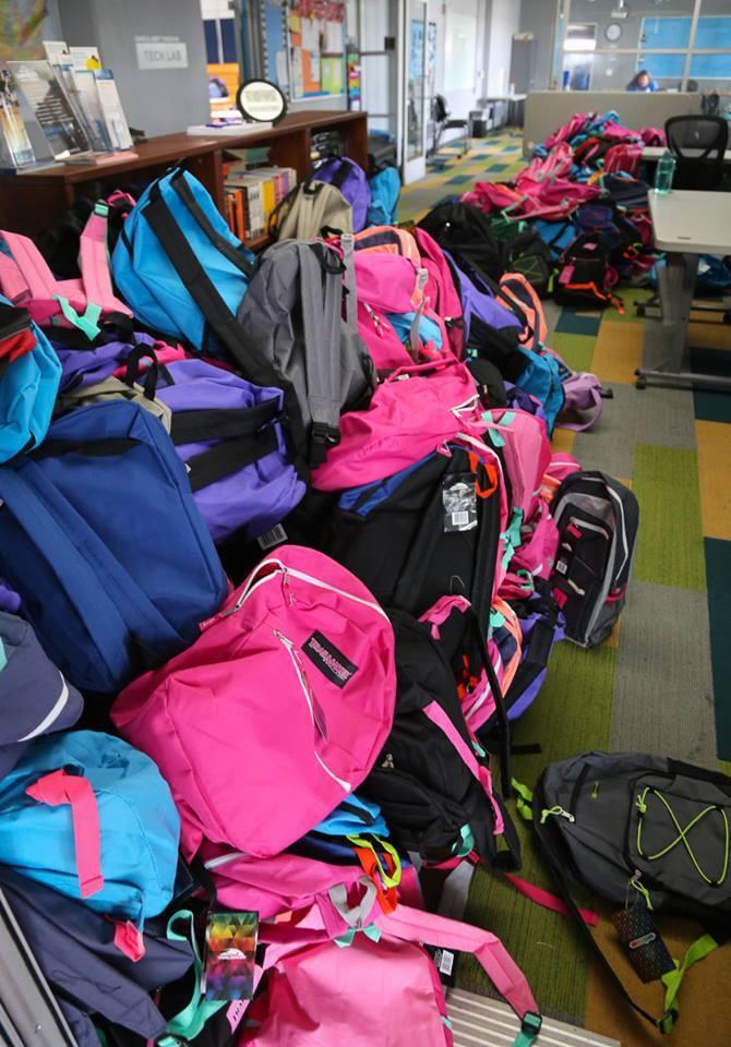 Backpacks Rotary Club of Irvine 10