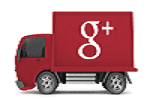 G+ LOGO ICON WITH PAGE LINK