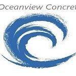 oceanview concrete logo
