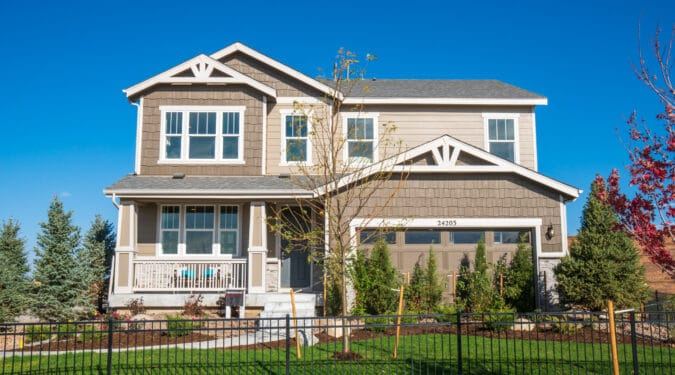 The Aurora Highlands by Richmond American Homes