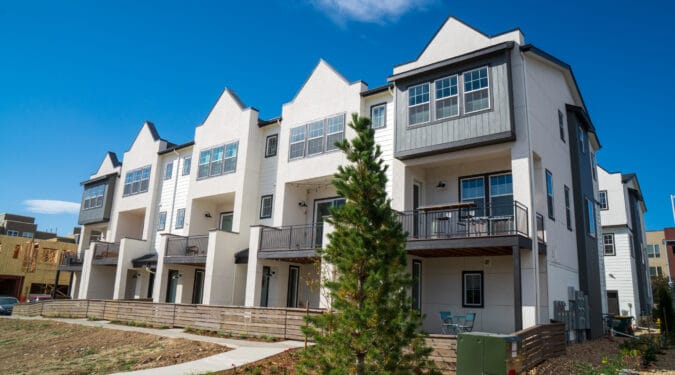 Arista 3-Story Rowhomes by Thrive Home Builders