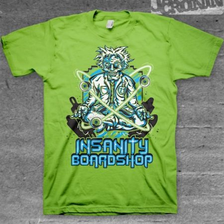 Insanity Shirt Lime
