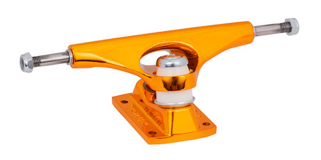 Krux Krome Orange DLK Trucks