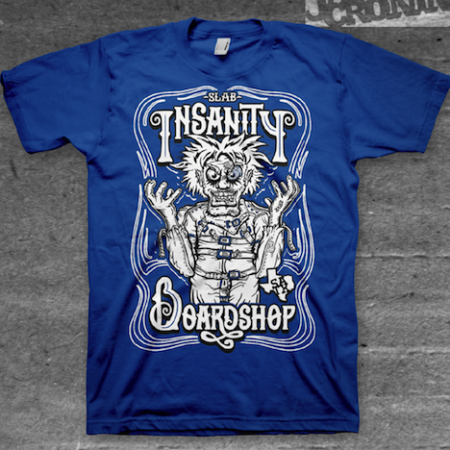Insanity Shirt Blue