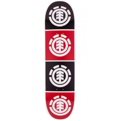 Element Black And Red Logo 7.75in
