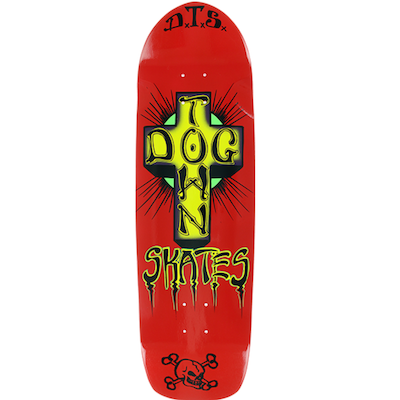 Dogtown Oldschool Red 9.0in