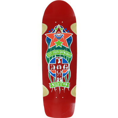 Dogtown Oldschool Red 8.875in