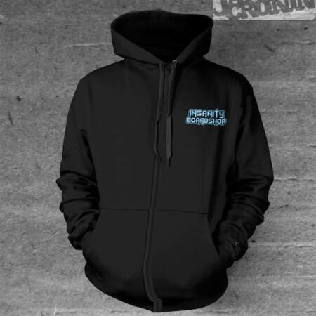 Insanity Boardshop Blue Hoodies