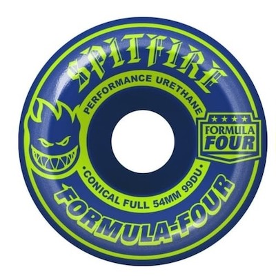 Spitfire Formla 4 Classic Navy/Lime 54mm 99a