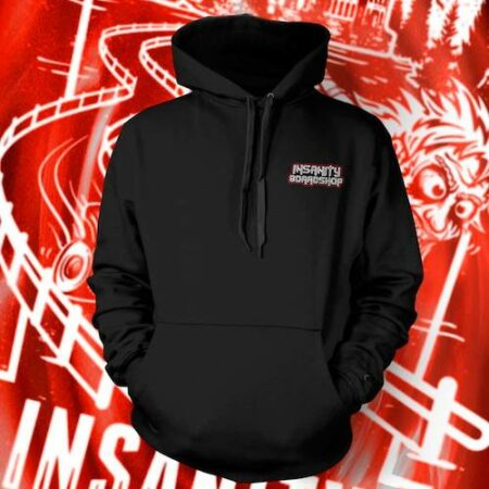 Insanity Boardshop Red Hoodie
