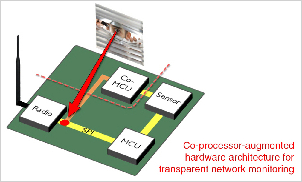 Coprocessor-augmented Network Monitoring